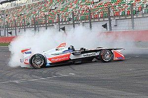 Mahindra completes Formula E and Moto3 demo run at Buddh