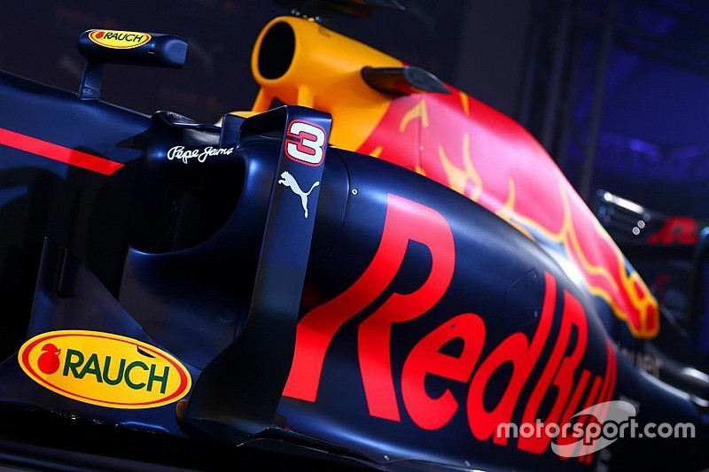 【F1】レッドブル、2月26日に新車RB13を発表