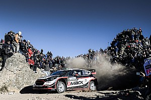 WRC Nieuws Evans kapot na verliezen WRC-zege Argentinië