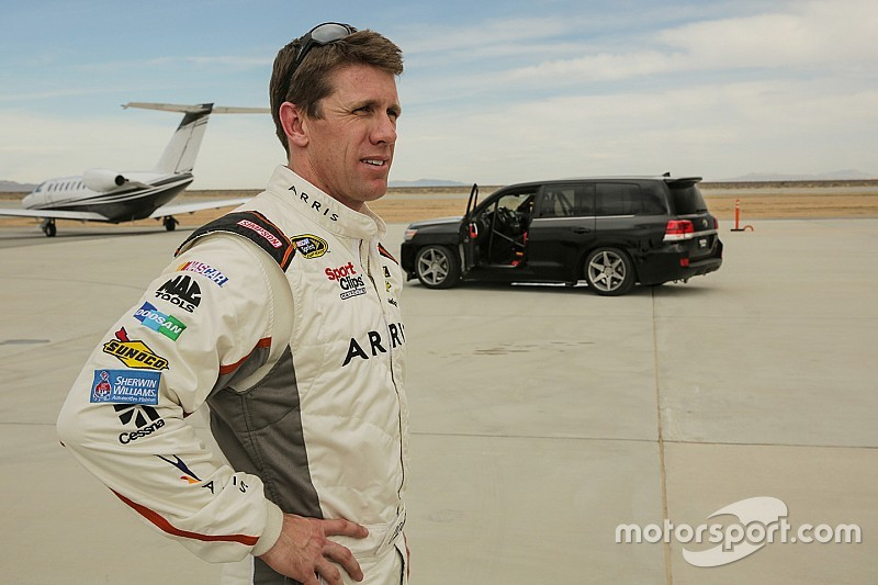 "Carl Edwards: ""I haven't even considered coming back"""