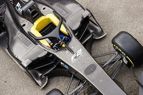 """""""Pas laat besloten om nieuwe F2-auto van halo te voorzien"""", aldus Whiting"""