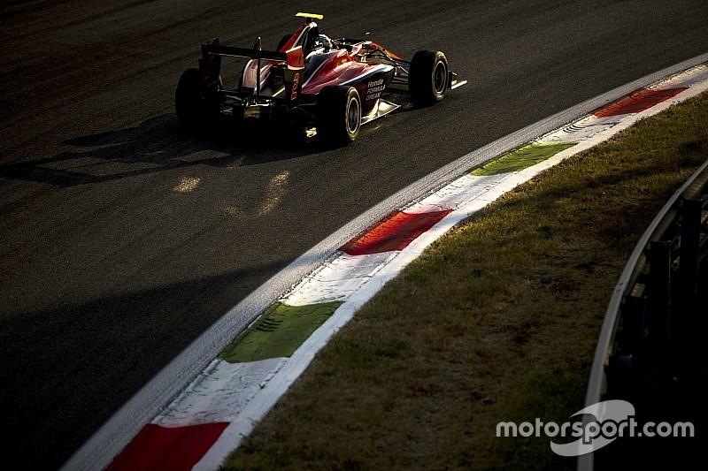 GP3第6戦モンツァ予選:荒天でセッション中止。福住仁嶺がポール獲得