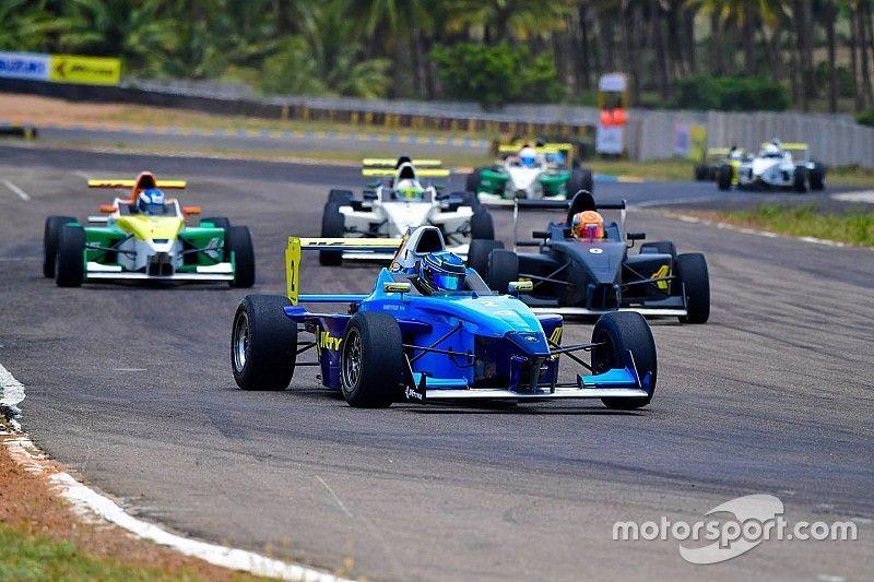 Coimbatore JK Tyre Racing: Reddy takes easy Race 3 win
