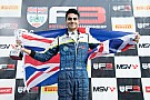 إنعام أحمد يختبر سيارة الفورمولا 3 الأوروبيّة مع فريق