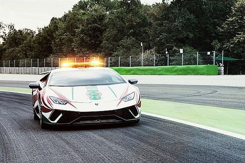 Lamborghini на стартовой решетке Гран При Италии. Что она там делала?