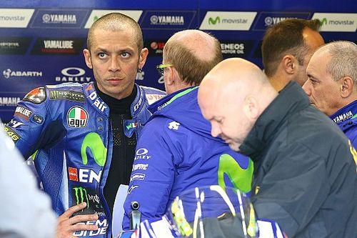 """Rossi: """"Beste race van het seizoen, fout op cruciaal moment"""""""