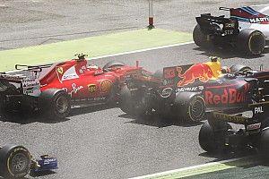 Raikkonen, Verstappen blame Bottas for Turn 1 exits