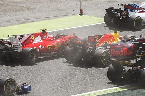 Kimi e Verstappen culpam Bottas por incidente na curva 1