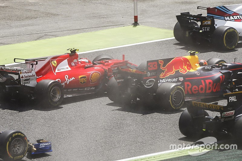Raikkonen dan Verstappen salahkan Bottas atas insiden di Tikungan 1