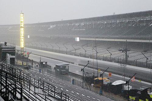 Schlechtwetter: Qualifying zum Indy 500 2017 wird verschoben