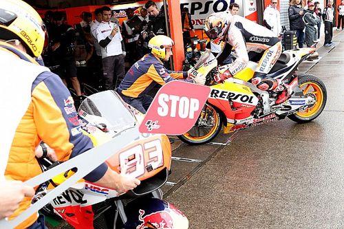 GALERI: Aksi pembalap MotoGP Jepang pada Sabtu