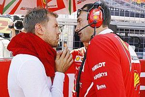 Wedstrijdleiding deelt reprimande uit aan Vettel