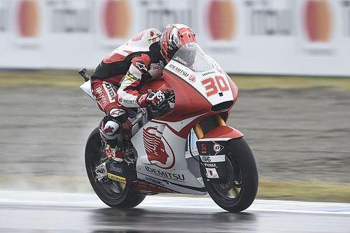 Moto2もてぎ予選:中上貴晶が壮絶なアタック合戦制し母国ポール獲得!