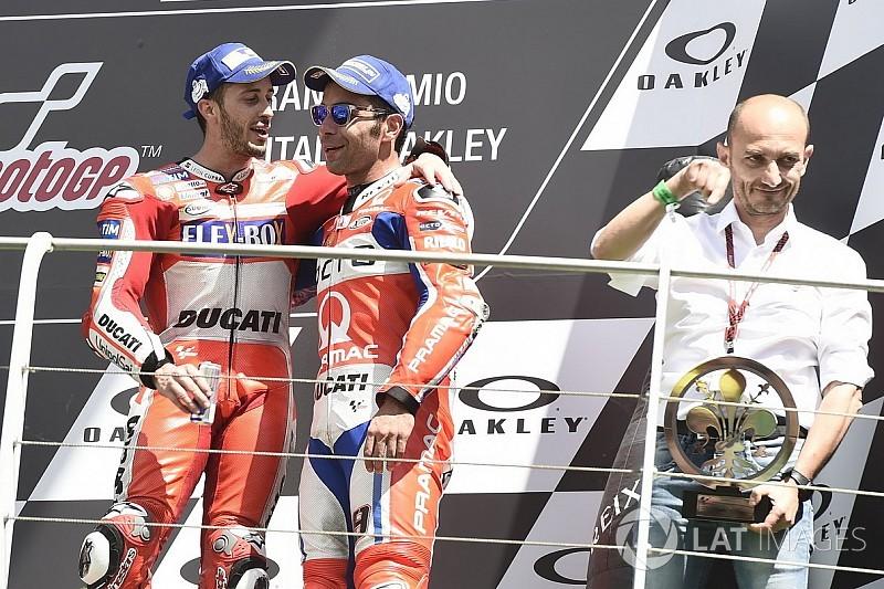 Pilote officiel Ducati, Petrucci réalise un rêve
