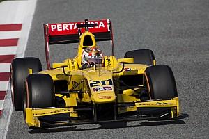 FIA F2 Relato de testes Nato termina teste em Barcelona no topo; Sette Câmara é 11º