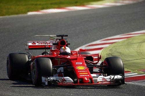 Tes Barcelona: Vettel tercepat, McLaren berhenti dua kali di sesi pagi