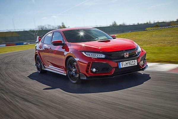 Honda Civic Type R, la prova in pista