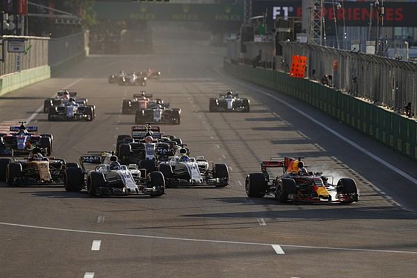 Forma-1 BRÉKING Videón Ricciardo brutális előzése Bakuból: viszlát!