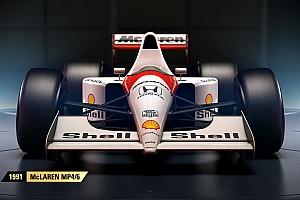 Videogames Toplijst In beeld: De historische Formule 1-auto's in de game F1 2017