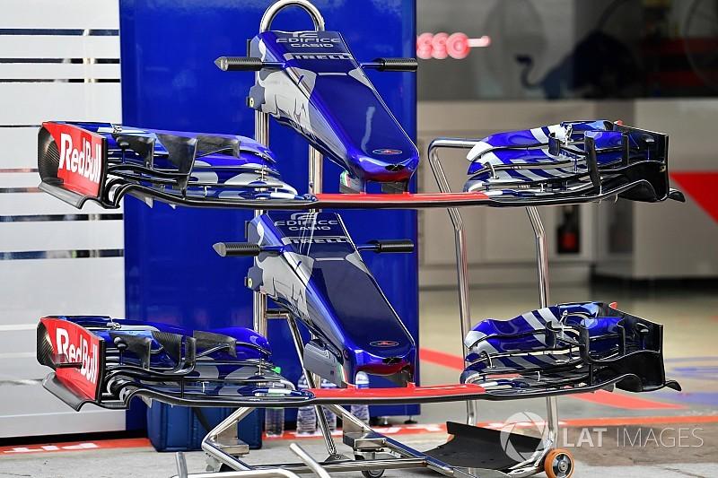 Toro Rosso: ala anteriore più scarica e piloni corti