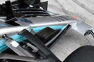 Forma-1 Elemzés Öblösebb lett a Mercedes orrának alja
