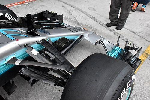 Mercedes: Hamilton e Bottas riproveranno il kit aero bocciato a Sepang