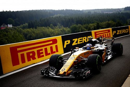 Palmer gets gearbox change penalty