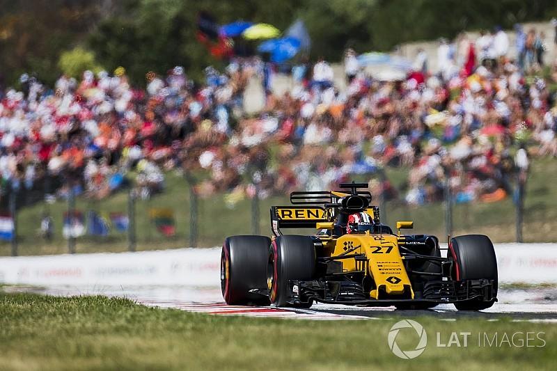 Le pilotage de Hülkenberg mis en valeur par les F1 2017