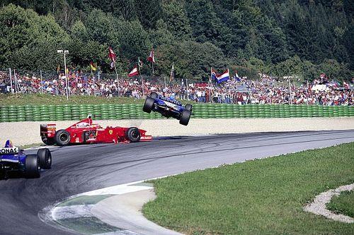 Rázós jelenetek az Osztrák Nagydíjról: Schumacher, Montoya, Coulthard…