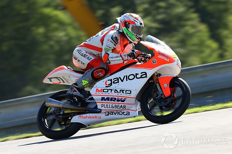 Brno Moto3: Set-up issues compromise Mahindra in qualifying