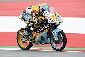 Moto3 Kwalificatieverslag Bendsneyder lang kopman kwalificatie GP Oostenrijk, Rodrigo op pole
