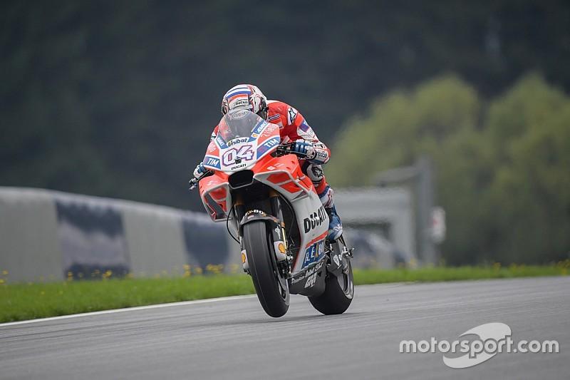 MotoGP 2017 in Spielberg: Ducati-Pilot Dovizioso mit klarer Bestzeit