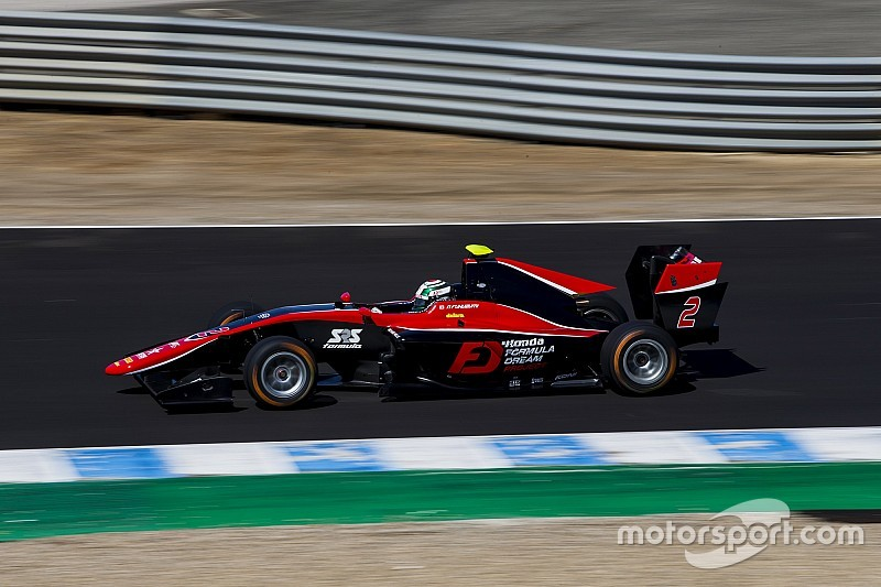 Victoria de Fukuzumi en la GP3