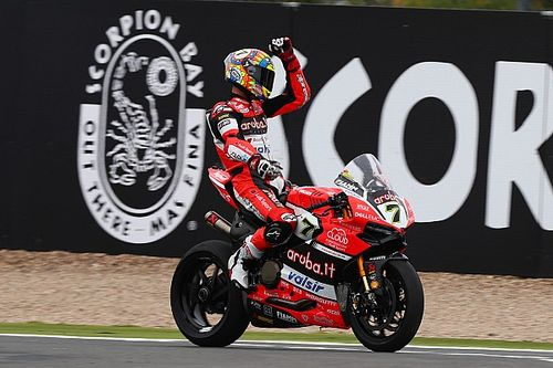 Ducati: Chaz Davies a caccia del secondo posto in campionato