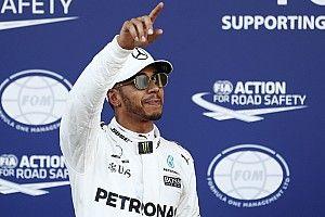 """Hamilton dice que su última vuelta en Bakú fue """"a morir"""""""