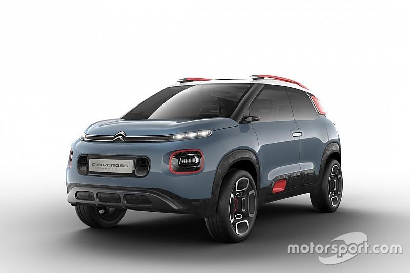 Citroën présente son concept C-Aircross