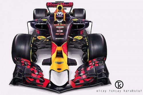 2017 Red Bull RB13 fantezi tasarım