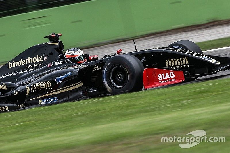 Monza F3.5: Binder inherits win after Nissany penalty