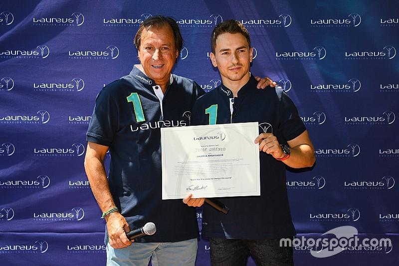 Jorge Lorenzo ditunjuk sebagai Duta Laureus