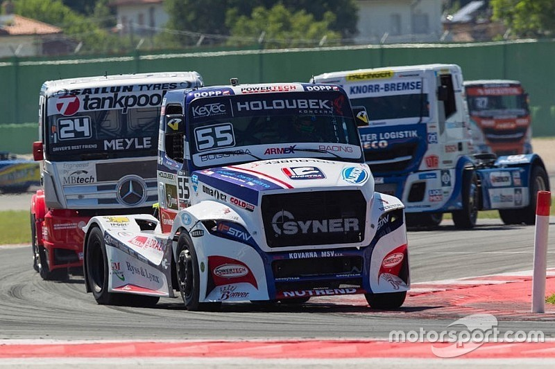 Lacko takes another Misano European Trucks hat-trick