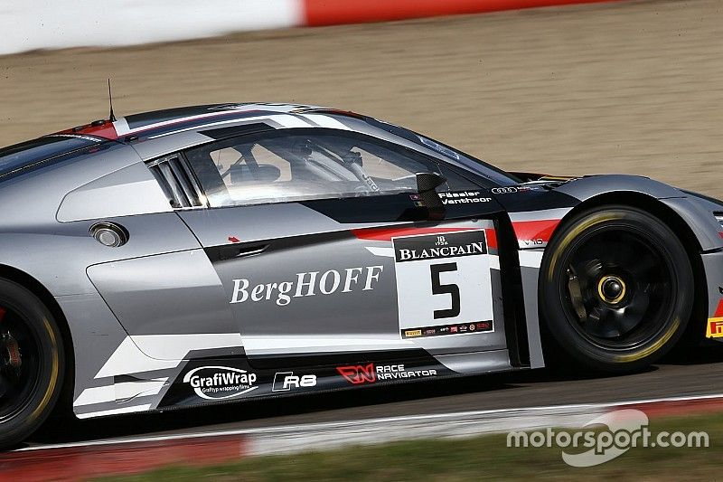 Nurburgring, Libere 2: Vanthoor e l'Audi si confermano in vetta