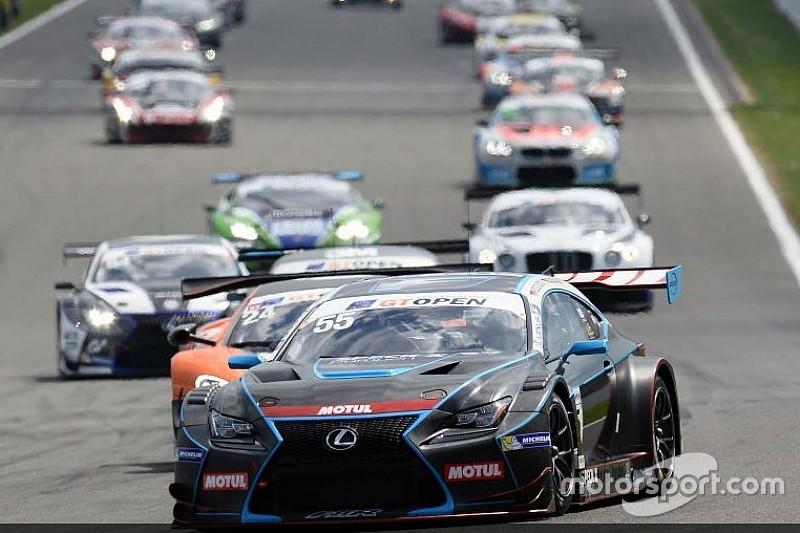 Dominio assoluto della Lexus RC-F in entrambe le gare a Spa-Francorchamps