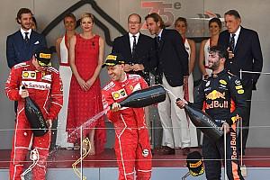 Monaco GP: Vettel uses strategy to topple Raikkonen for win