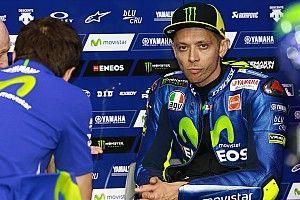 Rossi: Masalahnya saya harus start P10