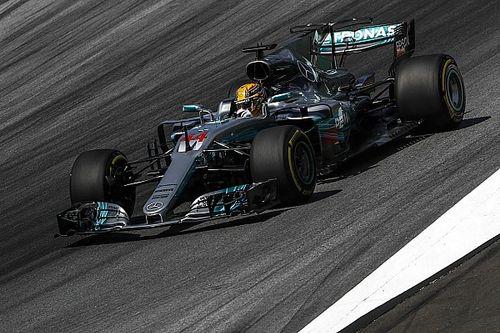 Hamilton perde 5 posizioni in griglia per la sostituzione del cambio