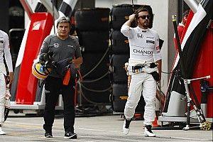 """Alonso tras abandonar en la primera vuelta: """"No pudimos hacer nada"""""""