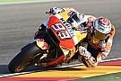 MotoGP Aragon MotoGP: Marquez tops shortened warm-up