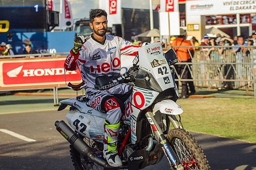 Dakar 2017, Stage 1: Santosh ends lead Indian rider, TVS Sherco's Pedrero is P2