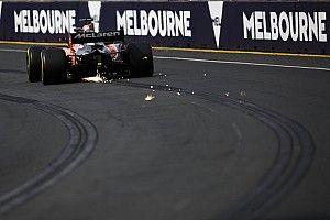 Galería: los nuevos F1 en su primer día del GP de Australia