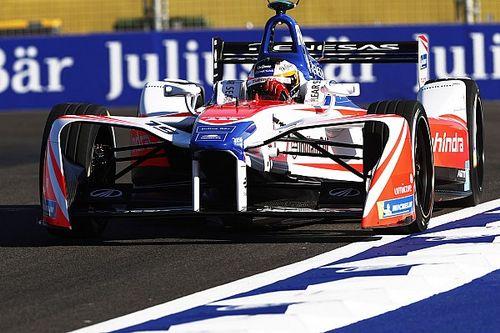 Mahindra had wagen maar net op tijd af voor winnende Rosenqvist